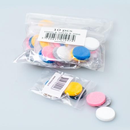 Lot de 10 Sachets de 5 tampons pour référence 10405 & 10436 & 2066