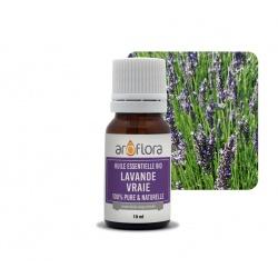 Charge von 6 einheiten Ätherisches Bio-Öl aus Echtem Lavendel 100 % rein und natürlich, 10 ml