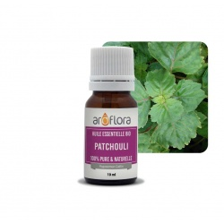 batch of 6 100% pure and natural, organic patchouli essential oil, 10ml