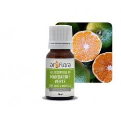 Lote de 6 unidades de Aceite esencial orgánico de mandarina verde 100 % puro y natural, 10 ml