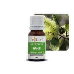 Lote de 6 unidades de Aceite esencial orgánico de niaouli 100 % puro y natural, 10 ml