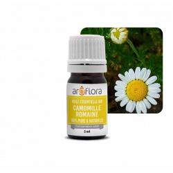 batch of 6 100% pure and natural organic roman chamomile essential oil, 5ml