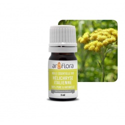 batch of 6 100% pure and natural, organic Italian helichrysum essential oil, 5ml
