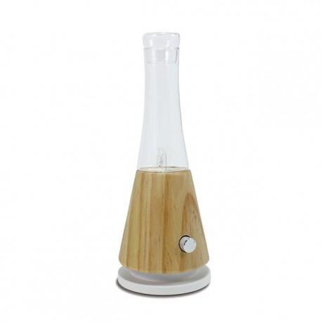Simplia V2: Diffuser mit Vernebelungstechnologie aus Glas und Holz