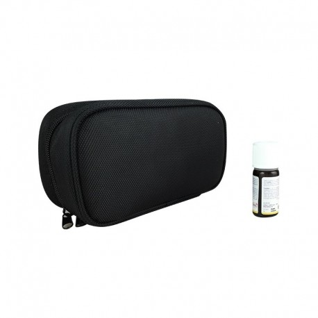 Purple and black essential oil case (large size)