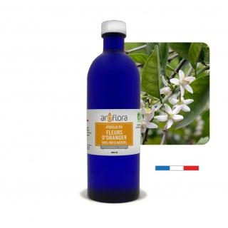 lot de 6 Hydrolat BIO de Fleurs d'oranger 100% pur et naturel, 200ml