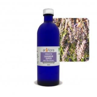 Hidrolato orgánico de lavandín súper 100 % puro y natural, 200ml