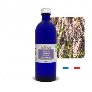 Batch of 6 100% pure, natural organic Lavandin Super hydrosol, 200ml