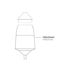 Nebuliser for ONA or BO diffuser