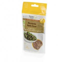 Mélange de graines à germer Bio N3 moutarde - radis rose