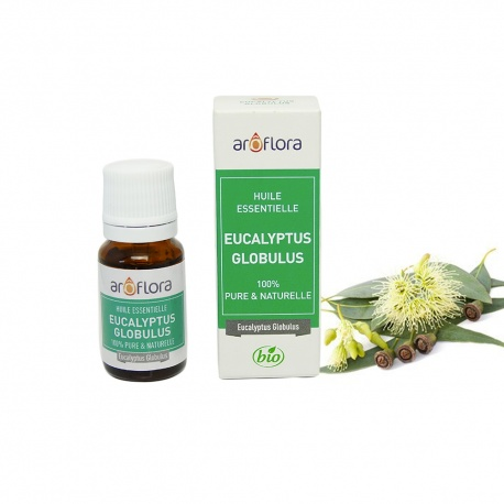 Huile essentielle d'Eucalyptus globulus 100% pure et naturelle, 10 ml