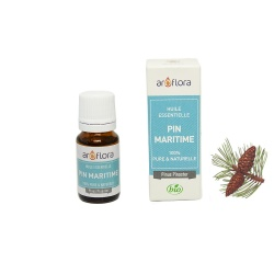 Organic essential oil of Maritime Pine 100% pure and natural, 10ml
