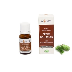 Organic essential oil of Atlas Cedar 100% pure and natural, 10ml