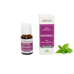 Organic essential oil of Patchouli 100% pure and natural, 10ml