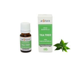 Aceite esencial orgánico de Tea Tree 100 % puro y natural, 10 ml