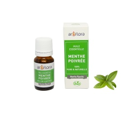 Organic essential oil of Peppermint 100% pure and natural, 10ml