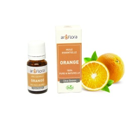 Organic essential oil of Orange 100% pure and natural, 10ml