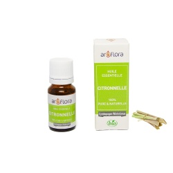 Organic essential oil of Lemongrass 100% pure and natural, 10ml