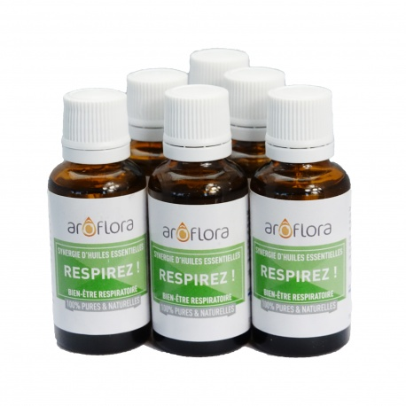 lot de 6 synergies 6x30 ml Respirez