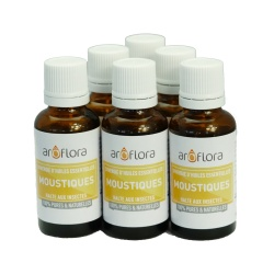 lot de 6 synergies 6x30 ml Moustiques