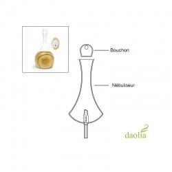 Vollständiges Glasgefäß für Diffuser Daolia